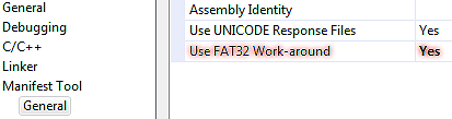 Use FAT32 Work-around