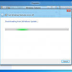 Windows 8 DP - Downloading from Windows Update...