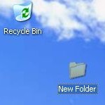 Windows XP folder stays