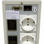 Orvaldi UPS, back with standard socket
