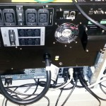 Dell Rack UPS 5600W - rear - UPS, EBM and NMC connected
