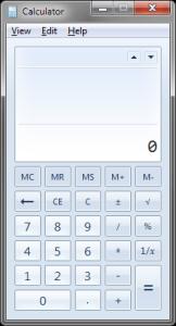 Windows Calculator