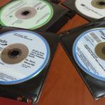 Some random MSDN disks
