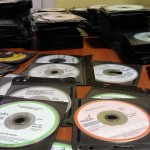 Too many MSDN disks with cases