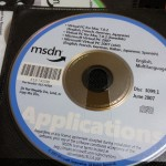 MSDN disk from June 2007